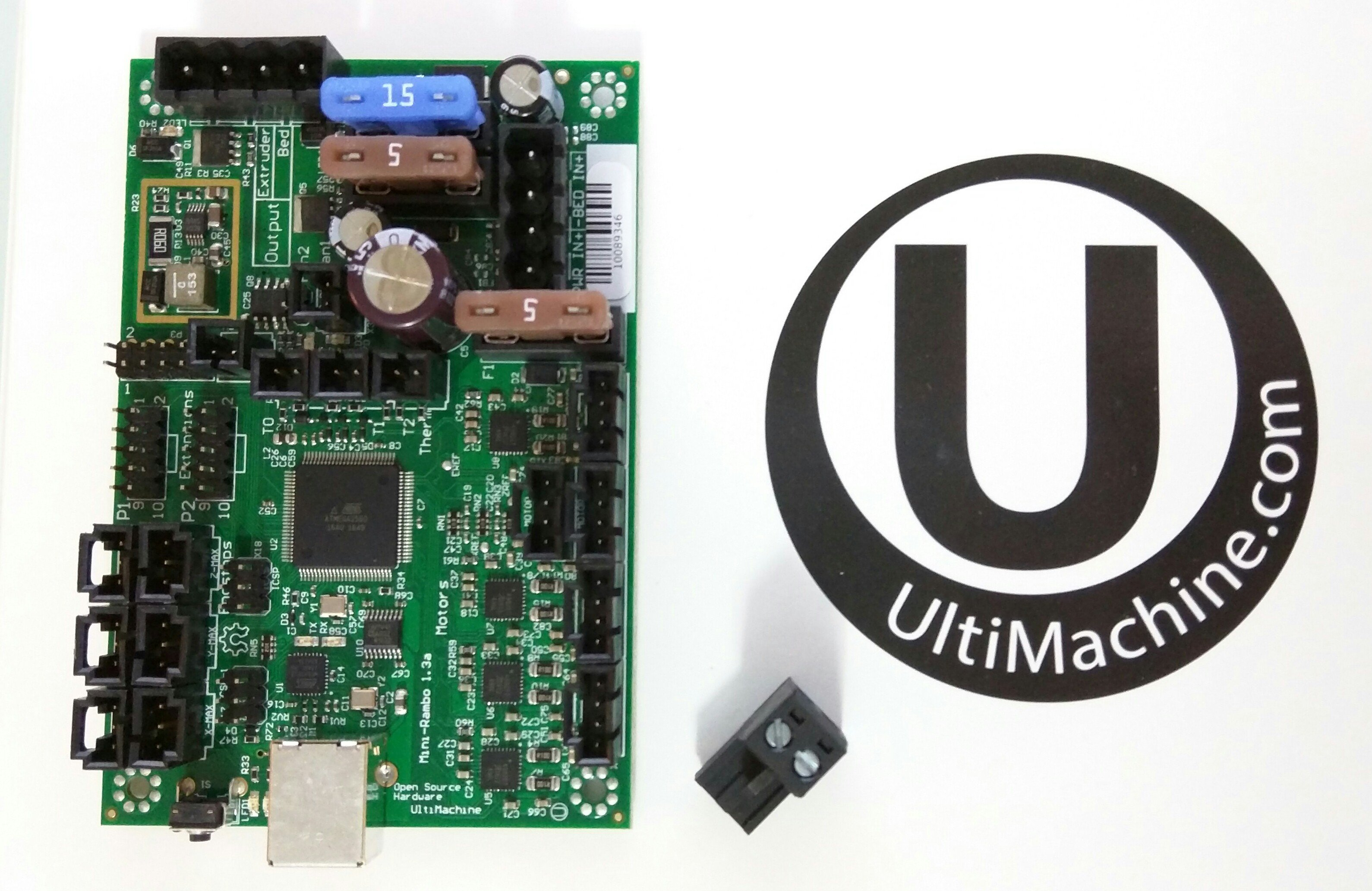 Ultimachine Control Boards V1 Engineering Mini Cnc Controller Wiring Diagram Are Extremely High Quality And Built As The Refined Updated Ramps 14 Board Meaning It Is A More Reliable Has Been Designed
