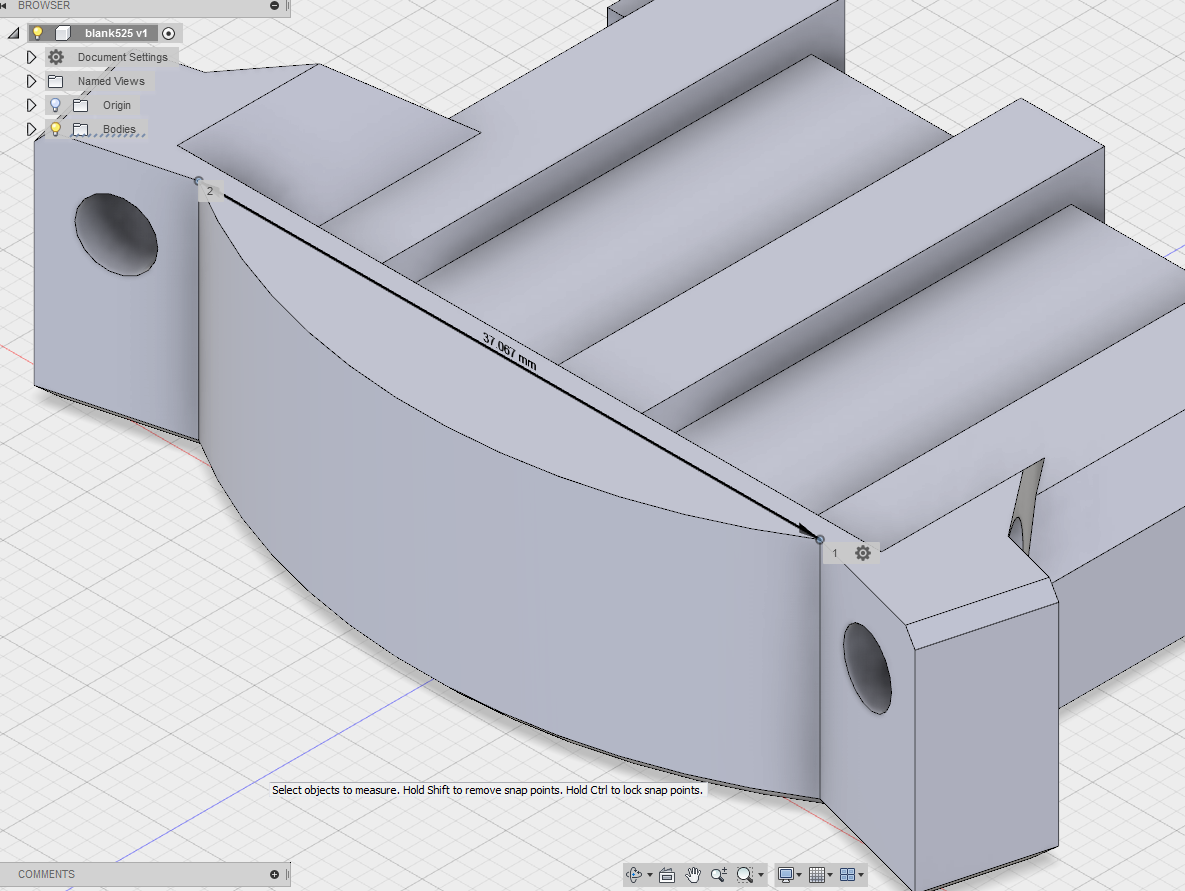 Tool Mount Dimensions | V1 Engineering
