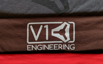V1 Engineering Shirts.