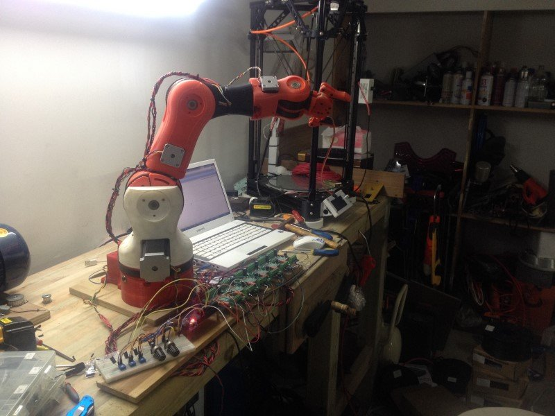 6 Axis Robot Arm – Kickstarter | V1 Engineering
