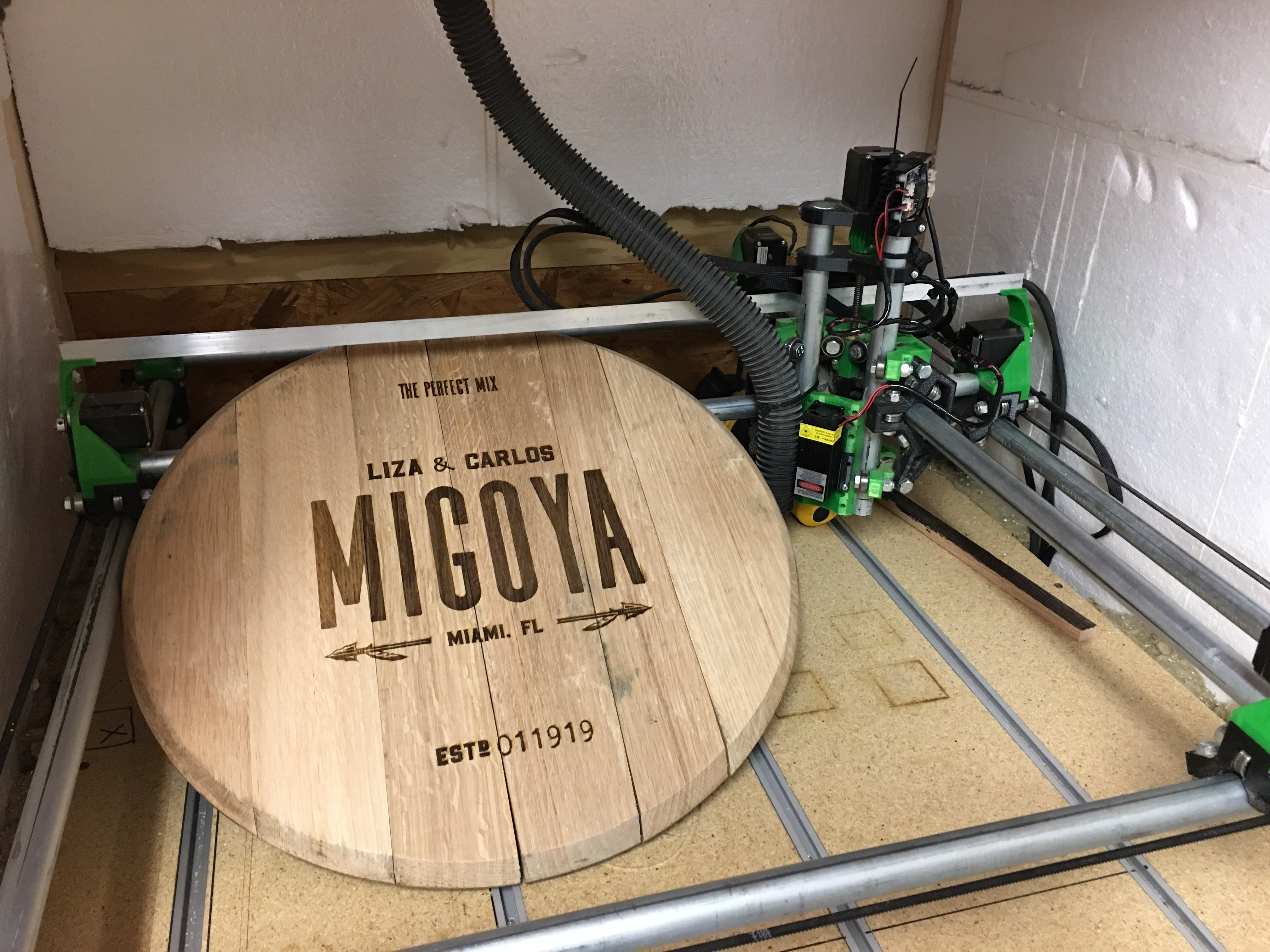 Barrel Top - MPCNC - A perfect marriage