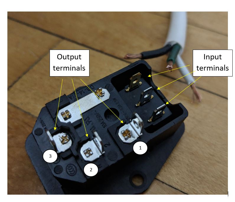 Power Plug With 3 Prong Switch Wiring