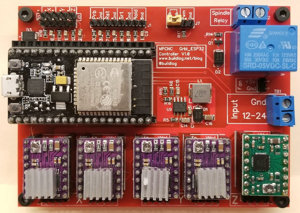 ESP32-Based Grbl CNC Control Board | V1 Engineering