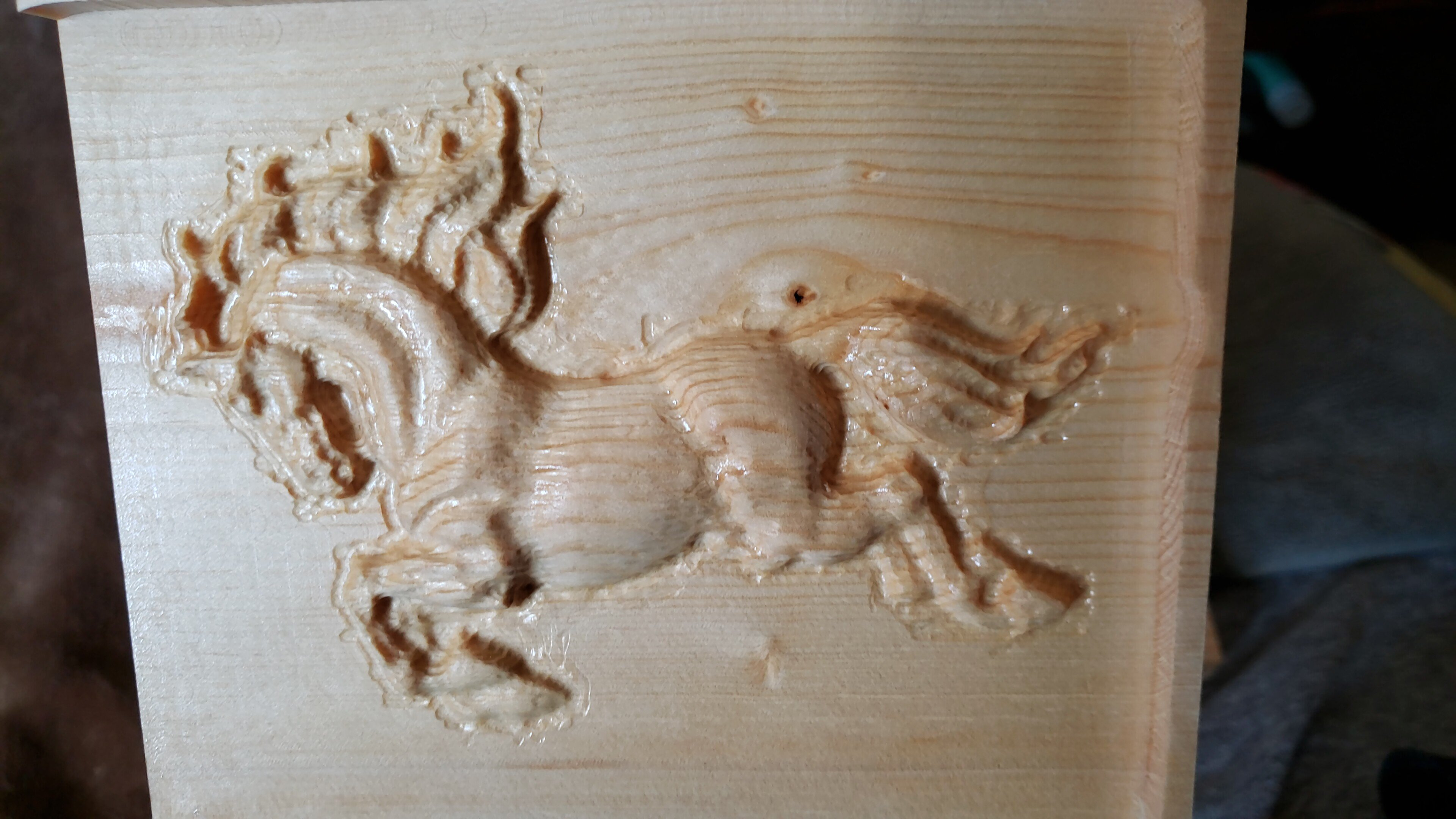 Relief carving v engineering